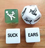 Shmily Love Dice Sex Dice Erotic Dice Love Game Sex Game Erotic Game Adult Game Love Toy Sex Toy Erotic Toy Sweetheart Couple Gift Fun Bachelor Party