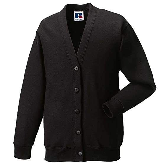 Russell Ladies Fleece Jackets Button Up Cardigan: Amazon.co.uk ...