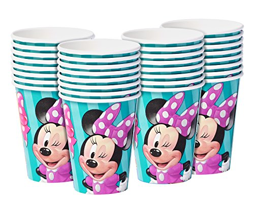 Price comparison product image American Greetings Minnie Mouse Paper Cups (32 Count), 9 oz