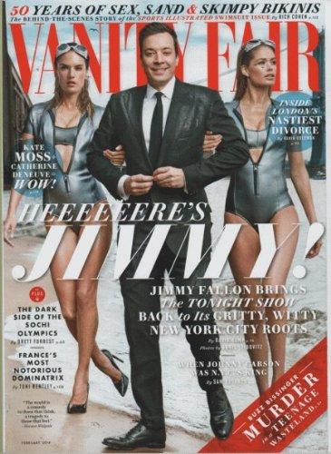 Vanity Fair Magazine (February, 2014) Jimmy Fallon Cover