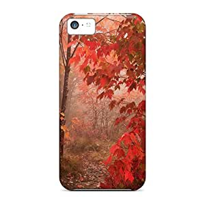 Ideal Lookme Case Cover For Iphone 5c(nature Park), Protective Stylish Case