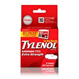 Tylenol Extra Strength Caplets, Fever Reducer and Pain Reliever, 500 mg, 6 ct