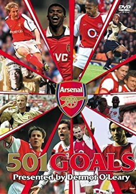 Arsenal Fc: 501 Great Goals [DVD]