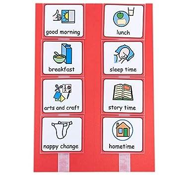 Calendario visual para guardería: Amazon.es: Oficina y papelería