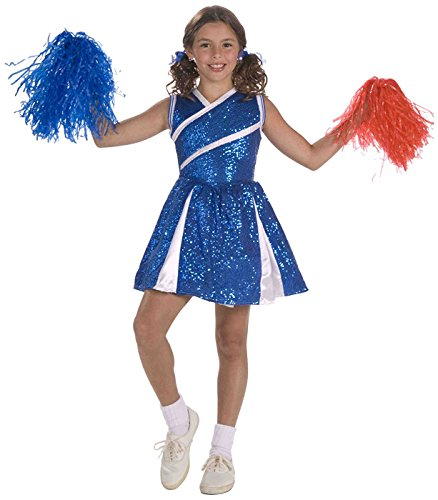 Forum Novelties Sassy Cheerleader, Child's Medium -
