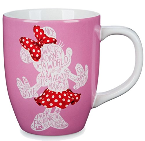 Minnie Silhouette - Walt Disney World Pink Minnie Silhouette Mug 16 oz