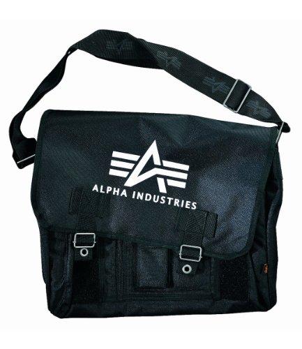 Courier Black Bag Messenger Industries Alpha Big A Oxford Bag vfOpqnY