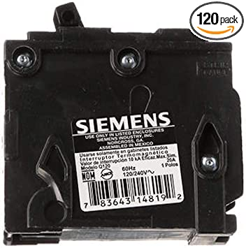 BRAND NEW! SIEMENS QF120A Ground Fault Circuit Interrupter 1 Pole 20 Amp