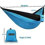 Kingstar Outdoor Double Camping Hammock, Portable...