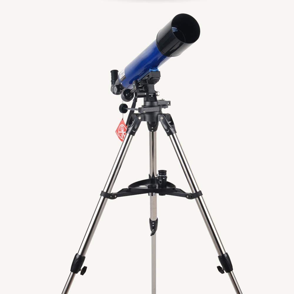 Finder Scope and Phone Adapter Perfect Telescope Gift for Kids 90mm Astronomy Refractor Telescope with Adjustable Tripod N \ A Telescope for Kids Beginners Adults