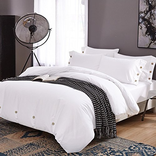 queen duvet cover grey - 5