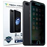 korean cell phone accessories - Tech Armor 4Way 360 Degree Privacy Apple iPhone 7 Plus/ iPhone 8 Plus (5.5-inch) Film Screen Protector [1-Pack] for Apple iPhone 7 Plus/ 8 Plus
