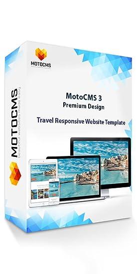 Amazon Com Motocms 3 Premium Design Bobo Travel Website Template
