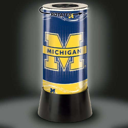 WinCraft NCAA University of Michigan Rotating Lamp, 12