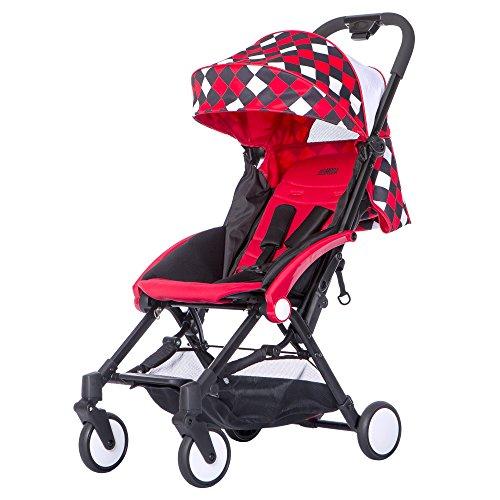 Mia Moda Enzo Urban Stroller, Red