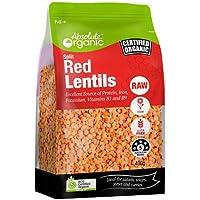 Absolute Organic Split Red Lentils , 400g