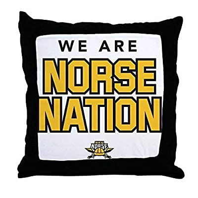 Pattebom Northern Kentucky Nku Norse Nation Canvas Throw Pillow Covers 18 x 18 Home Decor Farmhouse Throw Pillows Case Cushion Covers Decorative for Gifts