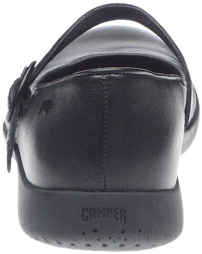 Camper 21499-001 - Bailarinas de cuero para mujer Negro