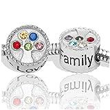 Best Disney Diamond Bracelets - Birthstone Charms for European Charm Bracelets Stainless Steel Review