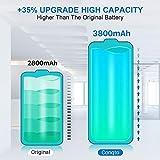 SHENMZ Galaxy S5 Battery, 2X 3800mAh