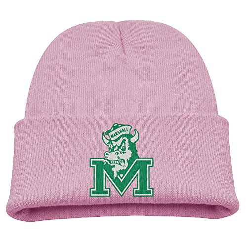Babala Marshall University Thundering Herd Children Knitted Beanie Cap Hat Skull Slouchy Cap Hat (50s Converse)