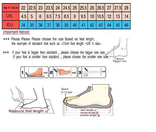 Traspirante Donna Da Scarpe Sneaker In Ysfu Sportive Tela Autunno Casual Basse Primavera I1vqcB