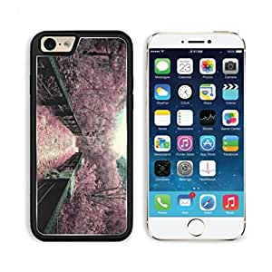 Sakura Flower Gate Walk Way Flowers Pink Blooming Punktail's Collections iPhone 6 Cover Premium Aluminium Design TPU Case Open Ports Customized Made to Order