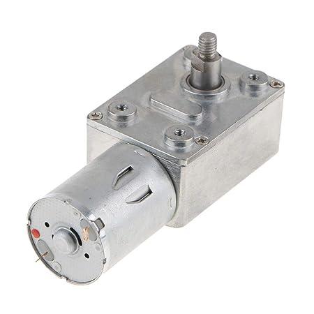 Elektroschloss B Blesiya DC 6V Mini Metall-Getriebemotor Turbo Motor f/ür DIY-Motor Robotermodell 3rpm