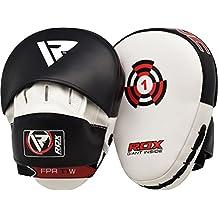 RDX Boxing Hook & Jab Punch Pads MMA Target Focus Punching Mitts Thai Strike Kick Shield