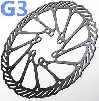 G3 Bicycle MTB Bike Cycling Brake Disc Rotor 6 Bolts 140mm//160mm//180mm//203mm