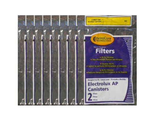 (16) Electrolux Aerus AP100 Canister Vacuum Hepa Micro electrostatic Filter LE 2100, Diplomat, Ambassador, Epic 6500, Full Kit, 200 350 622 10 , 079