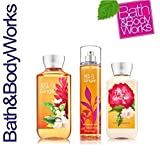Bath & Body Works Signature Collection White Tea & Ginger Trio Gift Set ~ Shower Gel ~ Fine Fragrance Mist & Body Lotion. Lot of 3