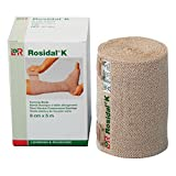 Rosidal K Short Stretch Compression Bandage, 100% Cotton & Latex Free Wrap for Lymphedema & Swelling