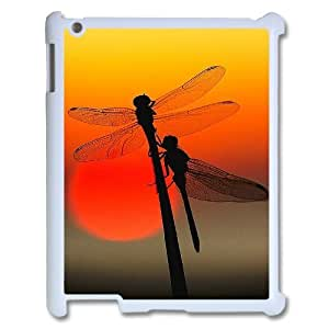 Custom Colorful Case for Ipad 2,3,4, Dragonfly Cover Case - HL-R668976 wangjiang maoyi
