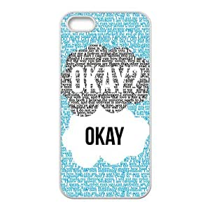 Fresh warm dialogue Cell Phone Case for iPhone 5S by mcsharks