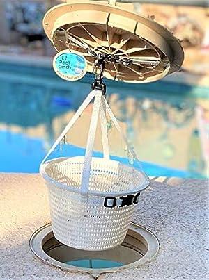 EZ Pool Cinch Skimmer Lid Handle and Basket Harness