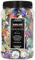 KIRKLAND Signature PREMIUM CHOCOLATES of the WORLD ASSORTMENT JAR from Kirkland Signature