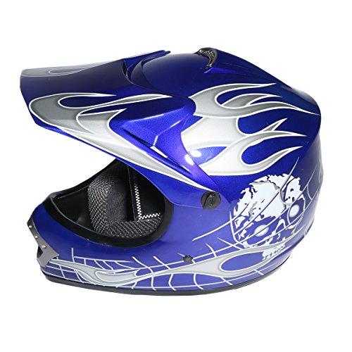 XFMT Youth Kids Motocross Offroad Street Dirt Bike Helmet Goggles Gloves Atv Mx Helmet Pink Butterfly S