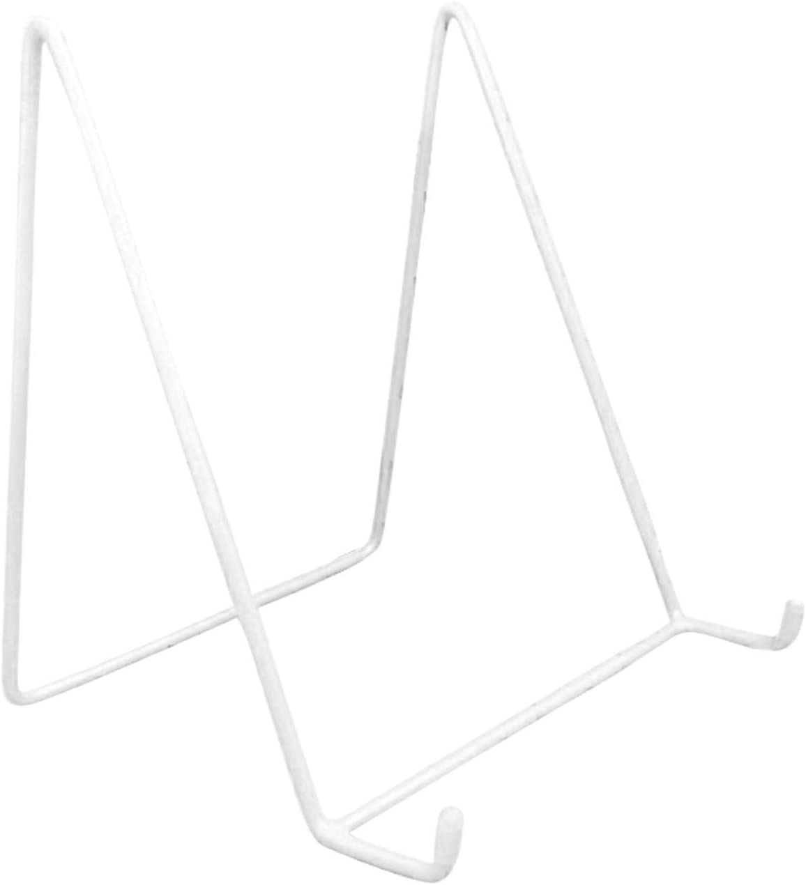 Display Stand,Vertical Desktop Iron Frame Stand Easel Plate Display Photo Holder Stand Scratch Proof Art Display for Photo Picture Decorative Display Stand