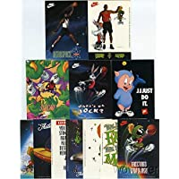 $29 » 1993 Nike Stickers Michael Jordon Basketball Warner Brothers Complete 12 Piece Set in Mint Condition