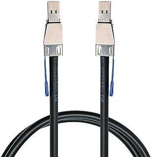 Cavo esterno Mini SAS HD SFF-8644 a Mini SAS ad alta densità HD SFF-8644, 50 cm, 12 Gbps