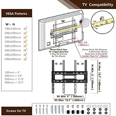 RFIVER Universal Soporte TV Giratorio de Mesa para Television de ...
