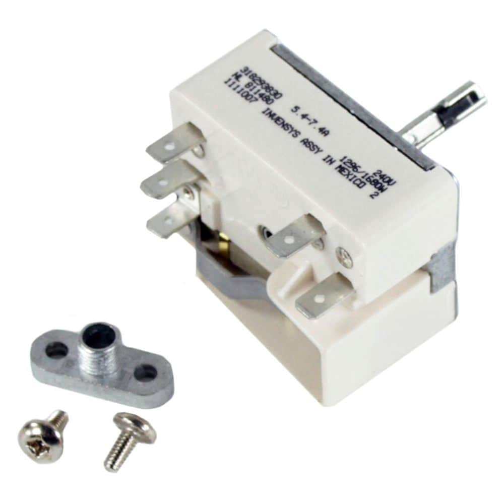 Frigidaire 903136-9010 Range Surface Element Control Switch Kit Genuine Original Equipment Manufacturer (OEM) Part