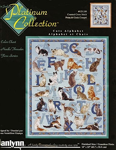 Janlynn Platinm Collection Cats Alphabet
