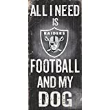 NFL Football and Dog Wood Sign