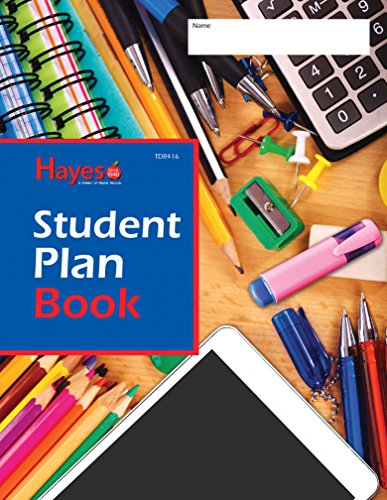 Pack of 24 Student Plan Books (8 3/8 x 10 7/8in; Spiral-bound) by Flipside