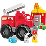 Mega Bloks Fire Truck Rescue Building Set