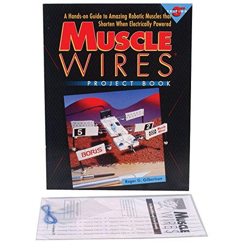 Mondo Tronics 3-141-VP Muscle Wire R and D Kit, Project Book and Sample