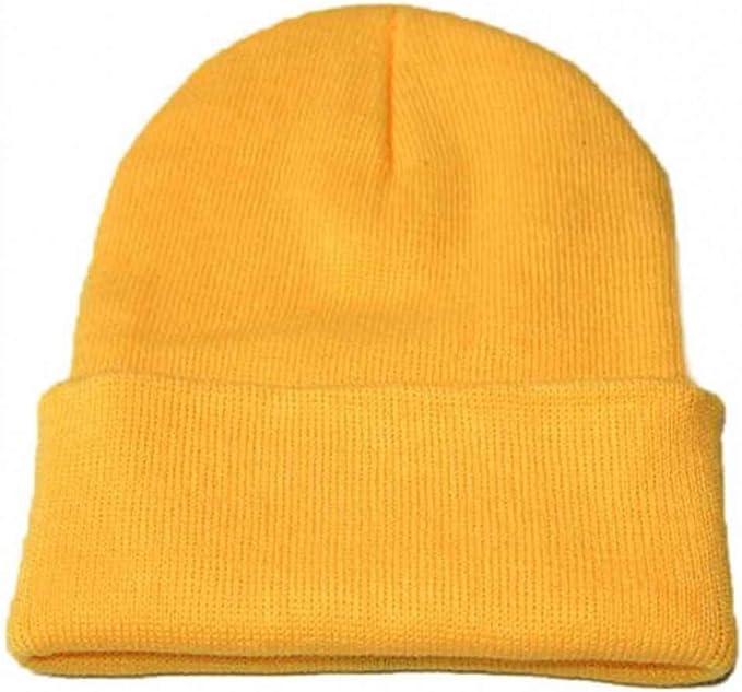 JJHR Sombreros y gorras Unisex Slouchy Knitting Beanie Cap Cálidos ...