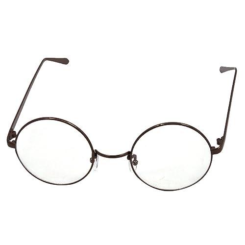 Vococal - Montatura Occhiali da Vista Occhio Frame Struttura a Forma Rotonda Vetri Ottici Pianura Oc...